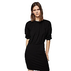 Mango - Black 'Santino' mini dress