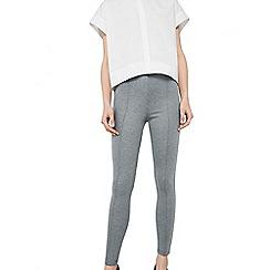Mango - Grey 'Punta-N' leggings