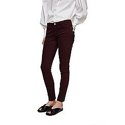 Mango - Plum 'Paty' skinny fit jeans