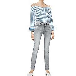 Mango - Grey 'Kim' skinny fit jeans