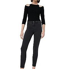 Mango - Grey 'Jane' skinny fit jeans