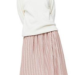 Mango - Pink 'Newvice' metallic skirt