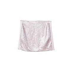 Mango - Pink sequin embellished 'Torino' mini skirt