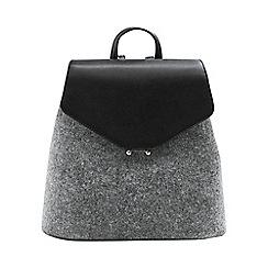 Mango - Grey 'Naro' backpack bag