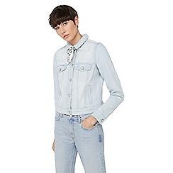 Mango - Blue 'Vicky' denim jacket