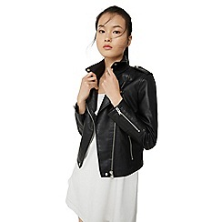 Mango - Black 'Etoille' biker jacket