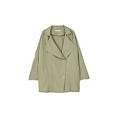 Mango - Khaki 'Guardapo' trench coat