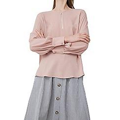 Mango - Pink 'Italy' blouse