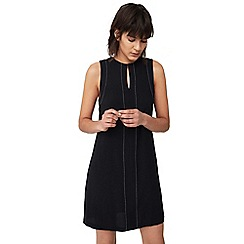 Mango - Black 'Stitch' dress