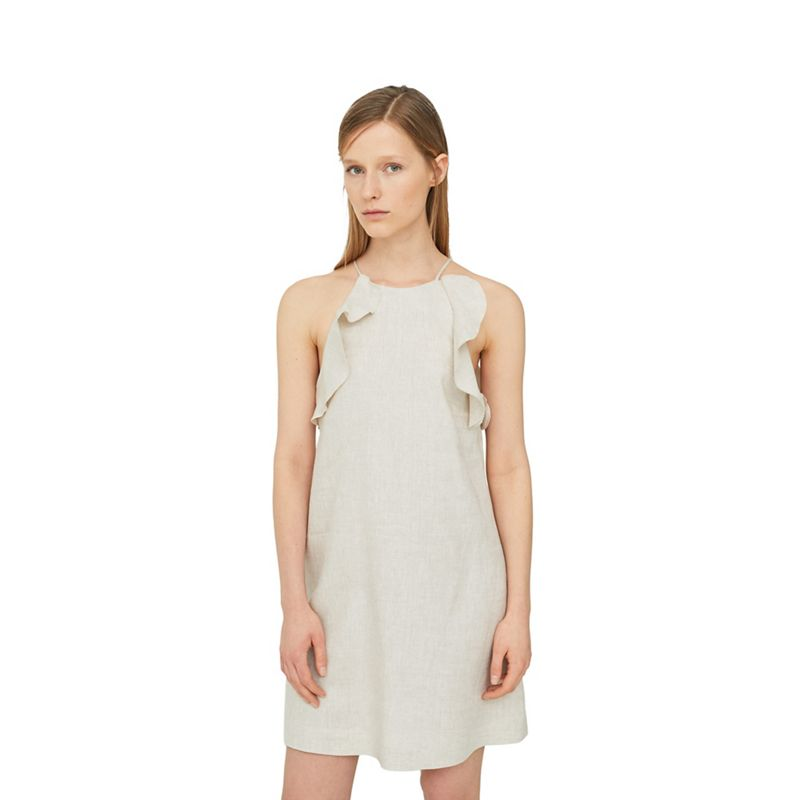 Mango Natural Soleil linen dress