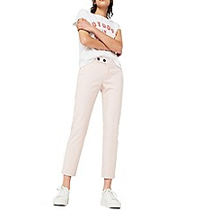 Mango - Pink 'Alano' straight fit trousers