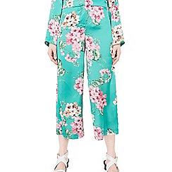 Mango - Green 'Sleep' floral print trousers
