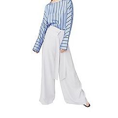 Mango - Blue 'Lazzio' palazzo trousers