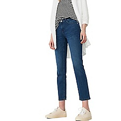 Mango - Blue 'Alice' straight jeans