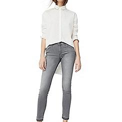Mango - Grey 'Olivia' skinny jeans