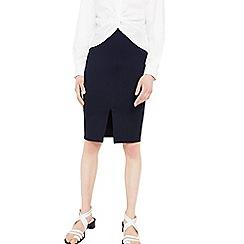 Mango - Navy 'Gody' pencil skirt