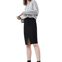 Mango - Black 'Gody' pencil skirt