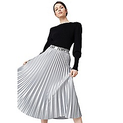 Mango - Grey 'Tempted' pleated skirt