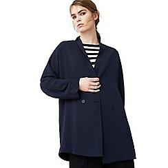 Mango - Blue 'Ana' oversized suit jacket