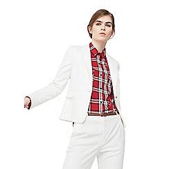 Mango - White 'Boreal' suit blazer