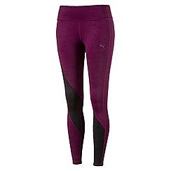 Puma - Dark purple clash tights