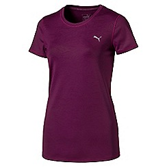 Puma - Dark purple essential t-shirt
