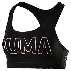 Puma - Black PWRSHAPE Forever sports bra