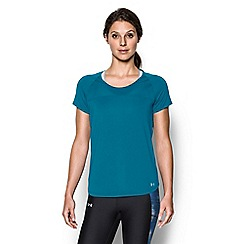 Under Armour - Blue 'Fly-By' short sleeve t-shirt