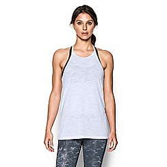 Under Armour - White 'Threadborne ' tank top