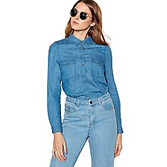 Noisy may - Blue 'Kendal' denim shirt