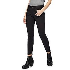 G-Star - Black '3301' mid rise skinny jeans