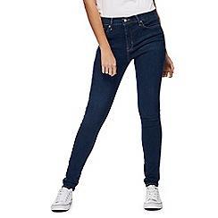 Levi's - Dark blue '310' mid-wash super skinny shaping jeans