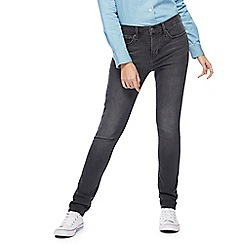 Levi's - Grey '311' mid-wash skinny shaping jeans