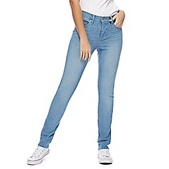 Levi's - Light blue '311' mid-wash skinny shaping jeans