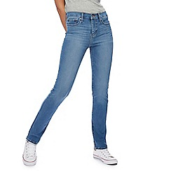 Levi's - Blue 312 slim shaping jeans