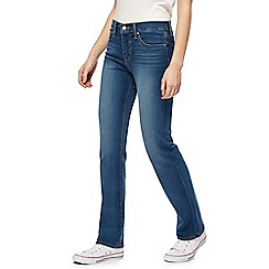 Levi's - 314 dark blue straight fit jeans