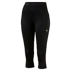 Puma - Women's Black Transition 3/4 leggings
