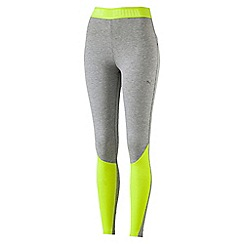 Puma - Women's Bright yellow Transition leggings