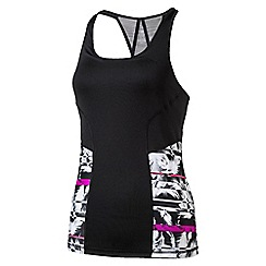Puma - Women's Bright pink 'All Eyes On Me tank' top