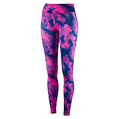 Puma - Women's Bright pink 'All Eyes On Me' tights