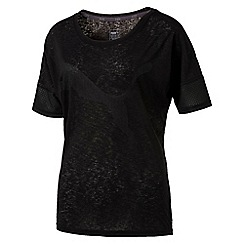 Puma - Women's Black Loose t-shirt