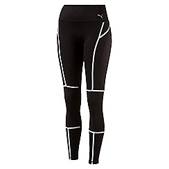 Puma - Women's Black Pwrshape tights