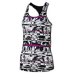 Puma - Women's Essential racer back graphic tank top