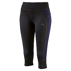Puma - Women's Grey Pwrcool Speed 3/4 tights