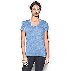 Under Armour - Pale blue V neck t-shirt
