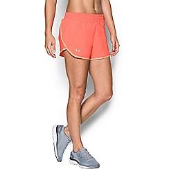 Under Armour - Orange 'Endeavor' running shorts