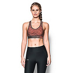 Under Armour - Black 'HeatGear«' non-padded non-wired sports bra