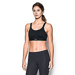 Under Armour - Black 'Eclipse' non-padded non-wired sports bra