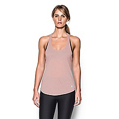 Under Armour - Grey mesh 'Threadborne ' running tank top