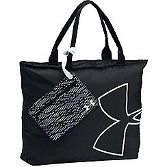 Under Armour - Black big logo graphic tote bag